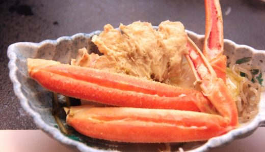 茹で蟹・カニに合うおかず・献立は?副菜・付け合わせ・汁物を紹介!